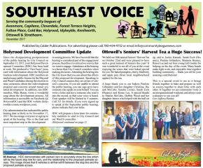 Southeast Voice November 2017